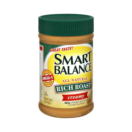 Smart Balance Rich Roast Peanut Butter, Natural, Creamy