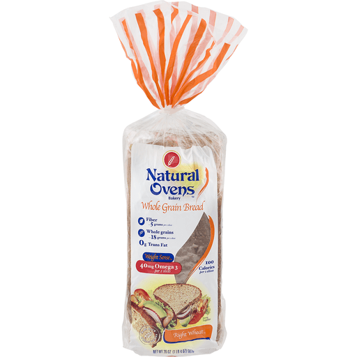 Natural Ovens Whole Grain Bread Right Wheat