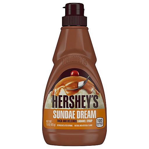 Hersheys Sundae Dream Caramel Syrup