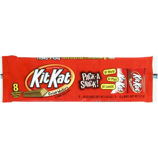Kit Kat Crisp Wafers, in Milk Chocolate, Snack Size