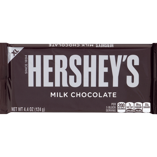 Hersheys Milk Chocolate, XL