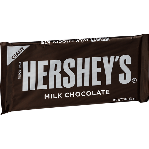 Hersheys Candy Bar, Milk Chocolate, Giant