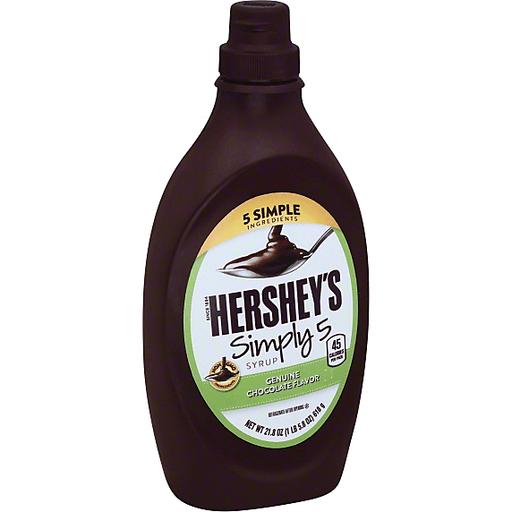 HERSHEY'S Simply 5 Syrup Genuine Chocolate Flavor