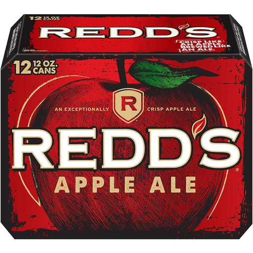 Redds Ale, Apple, 12 Pack