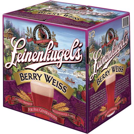 Leinenkugel's Berry Weiss 12-12 fl. oz. Glass Bottles