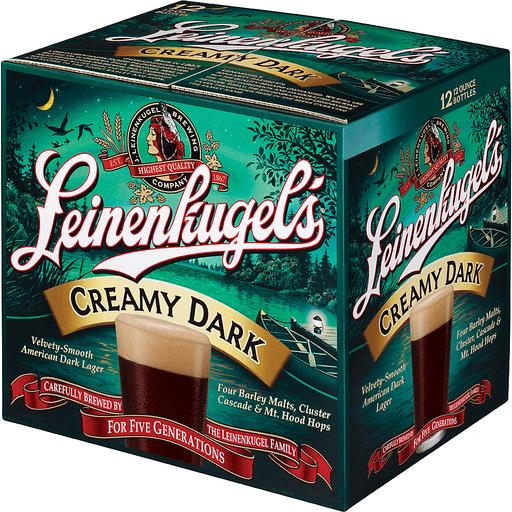 Leinenkugel's Creamy Dark Lager, 12 Pack, 12 fl. oz. Bottles, 4.9% ABV