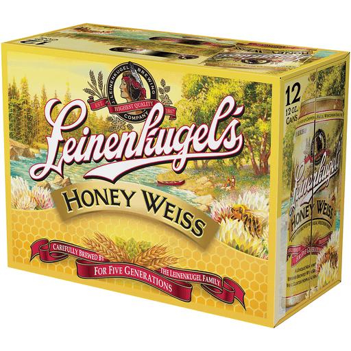 Leinenkugel's Honey Weiss Beer, 12 Pack, 12 fl. oz. Can, 4.9% ABV