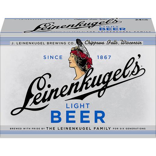 Leinenkugel's Light Beer, 24 Pack, 12 fl. oz. Can, 4.2% ABV