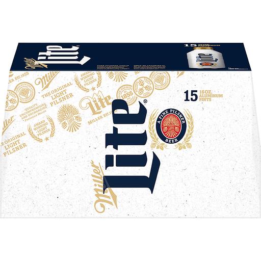 Miller Lite Beer, a Fine Pilsner