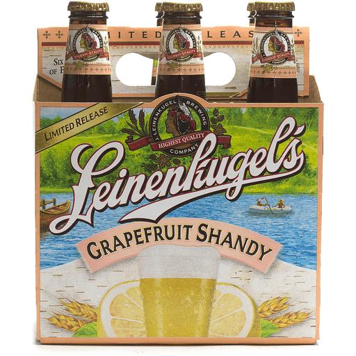 Leinenkugel's Beer Grapefruit Shandy - 6 PK