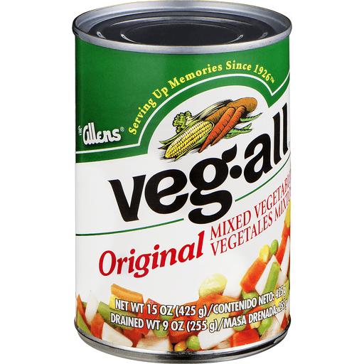 Veg All Mixed Vegetables, Original