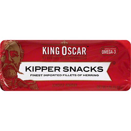 King Oscar Kipper Snacks   Green Way
