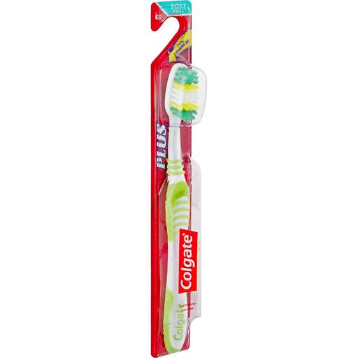 Colgate Plus Toothbrush, Full Head, Soft 02