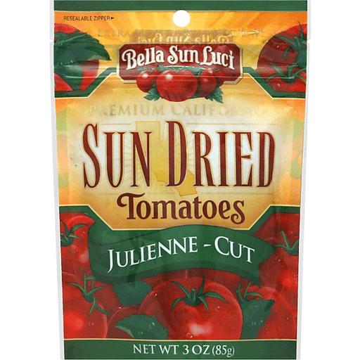 Bella Sun Luci Tomatoes, Sun Dried, Julienne-Cut