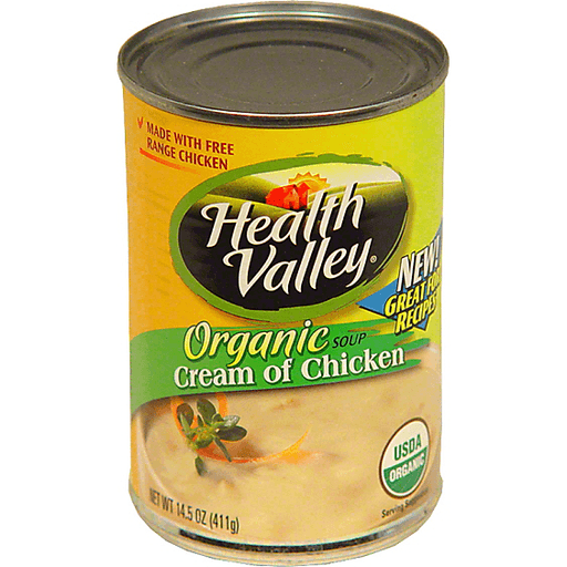 Health Valley Organic Cream of Chicken Soup