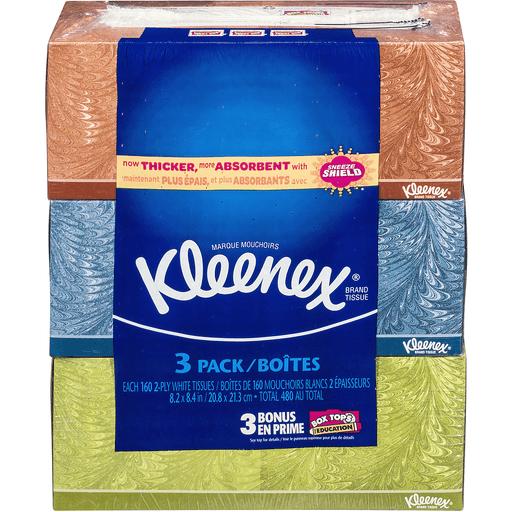 Kleenex Tissues, 2-Ply, Bundle Pack