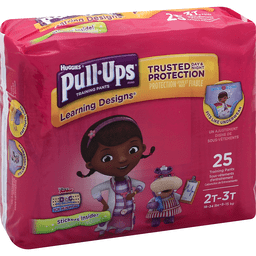 Huggies Pull-Ups Training Pants Learning Designs 2T-3T - 25