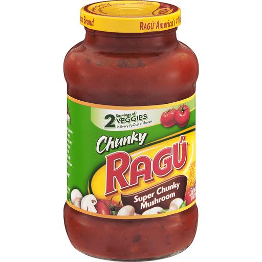 Ragu Sauce, Mushroom, Super Chunky Mushroom