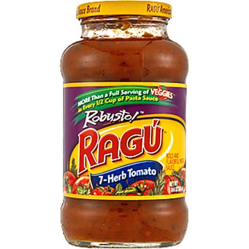 Ragu Chunky Sauce, 7-Herb Tomato