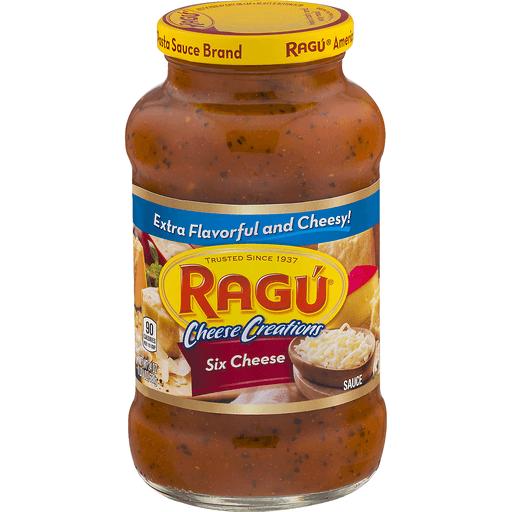Ragu Cheese Creations Sauce, Six Cheese