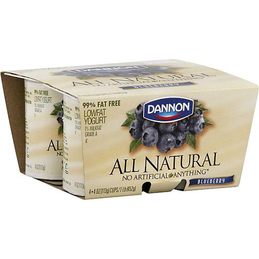 Dannon All Natural Yogurt, Lowfat