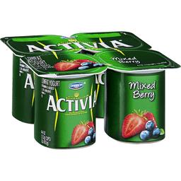 Activia Yogurt, Lowfat, Mixed Berry