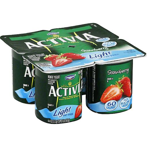 Activia Yogurt, Nonfat, Light