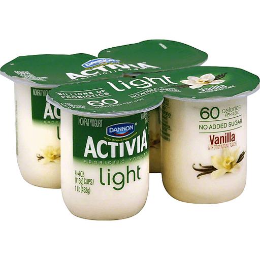 Dannon Activia Light Yogurt, Nonfat