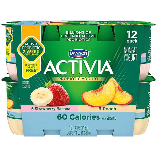 Dannon Activia Nonfat Light Yogurt with