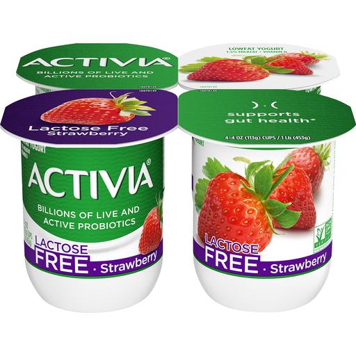 Dannon Activia Lowfat Yogurt Strawberry