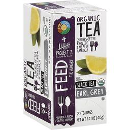 Full Circle Earl Grey Organic Tea Bags 20 Ct Box