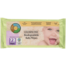 Full Circle Biodegradable Chlorine Free Scented Baby Wipes 72 Ct