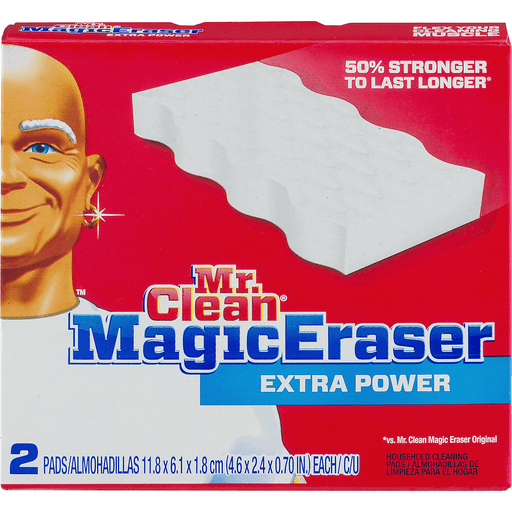 Mr Clean MagicEraser Cleaning Pads, Household, Extra Durable