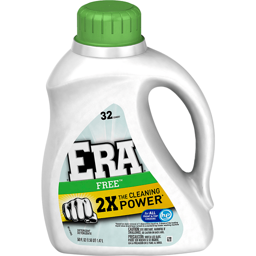 ERA Detergent, Ultra, 2X Concentrated, Free