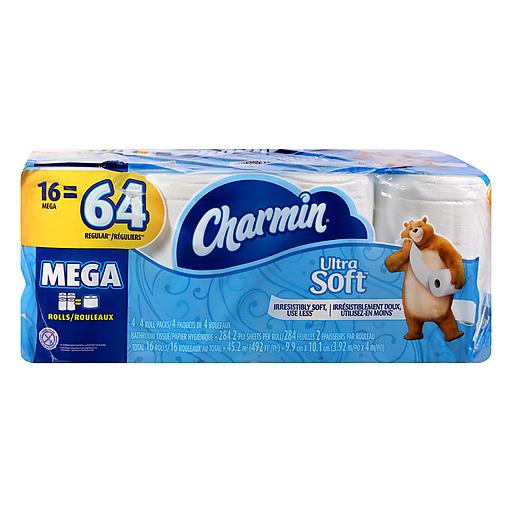 Charmin Soft Bath Tissue - Mega Rolls