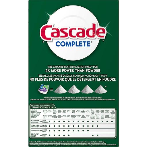 Cascade Complete Dishwasher Detergent Dawn Fresh Scent