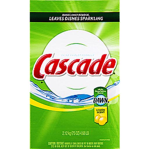 Cascade Dishwasher Detergent, Lemon Scent