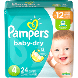 c7c8ddc00b7 Pampers Baby-Dry Size 4 Diapers 24 ct Pack