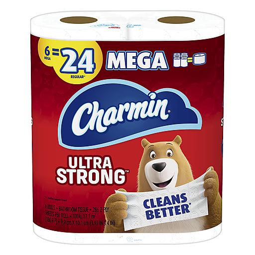 Charmin Charmin Strong Mega Tt