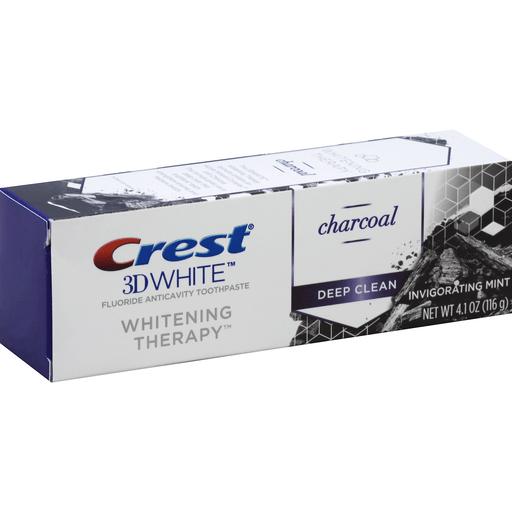 Crest 3D White Toothpaste, Fluoride, Anticavity, Deep