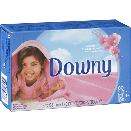 Downy Fabric Softener, April Fresh, Sheets
