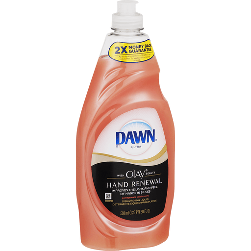 Dawn Ultra Dishwashing Liquid, Hand Renewal, Pomegranate Splash Scent