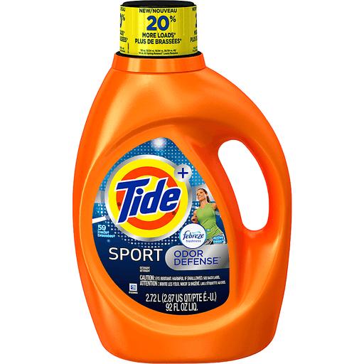 Tide Plus Febreze Freshness Detergent, Sport, Odor Defense, Active Fresh