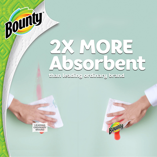 Bounty Paper Towels, Full Sheet, Big Rolls, White, 2-Ply