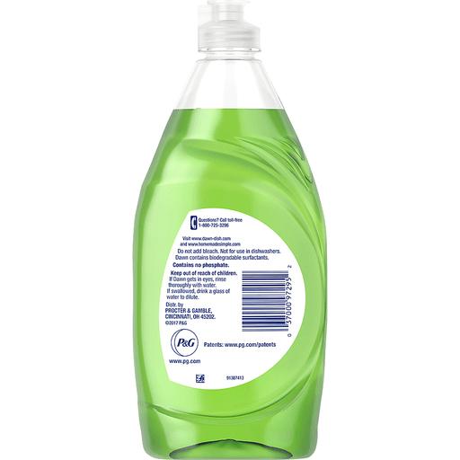 Dawn Ultra Dishwashing Liquid, Gentle Clean, Cucumber & Melon Scent