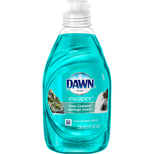 Dawn Ultra Escapes Dishwashing Liquid, New Zealand Springs Scent