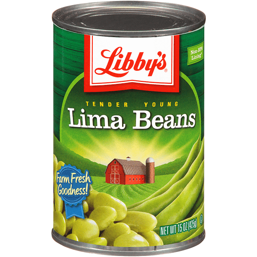 Libbys Tender Young Lima Beans