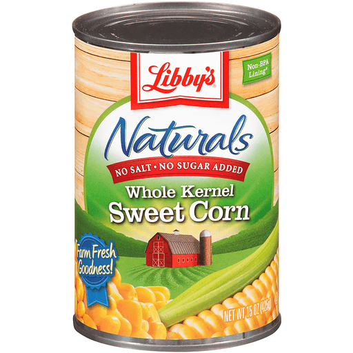 Libby's Naturals Whole Kernel Corn Sweet