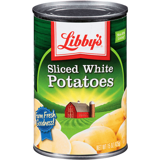 Libby's® Sliced White Potatoes 15 oz. Can