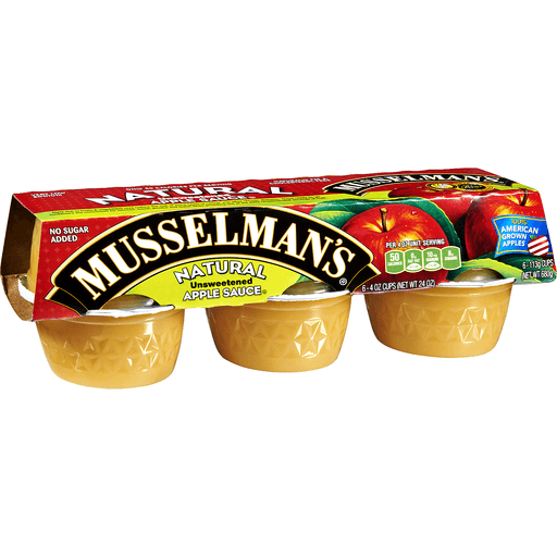 Musselmans Apple Sauce, Unsweetened